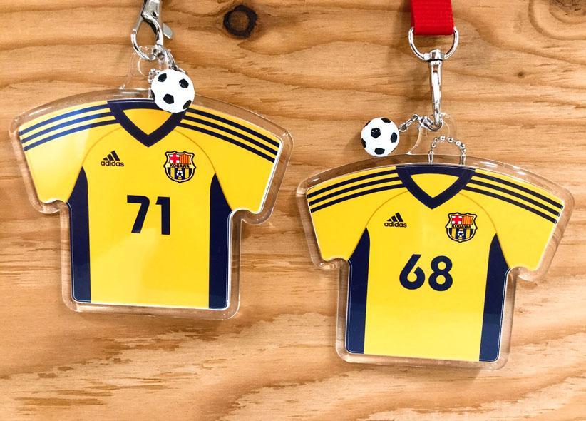 サッカーチーム記念品 応援グッズ