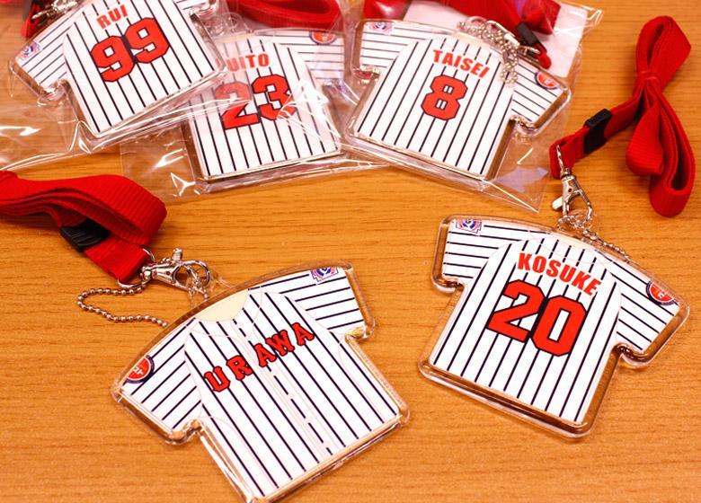 野球チーム 記念品